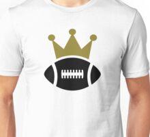 Football crown champion Unisex T-Shirt