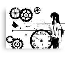 Steins;Gate - Kurisu Makise Trapped in Time Canvas Print