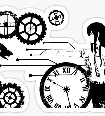 Steins;Gate - Kurisu Makise Trapped in Time Sticker
