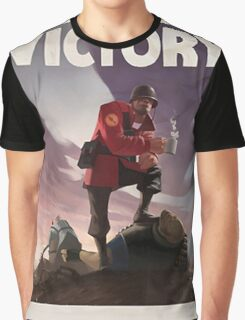 TF2 - Victory Poster/shirt Graphic T-Shirt