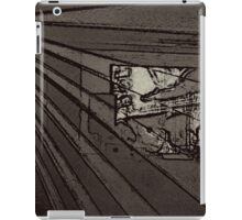 BLACK Electronic Underground #8 iPad Case/Skin