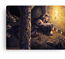 Ruins of The Nameless City Canvas Print
