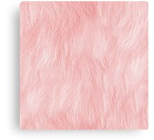Pink Fur Canvas Print