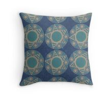 Symbolic Repetition Throw Pillow