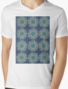 Symbolic Repetition Mens V-Neck T-Shirt