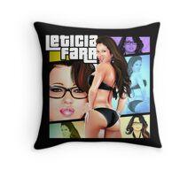 Leticia Farr GTA Throw Pillow