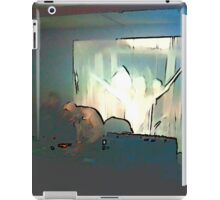 BLACK Electronic Underground #3 iPad Case/Skin