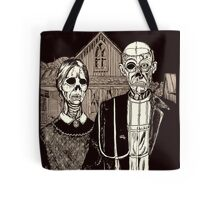 American Gothic Zombie Tote Bag