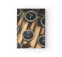 The Old Typewriter Hardcover Journal