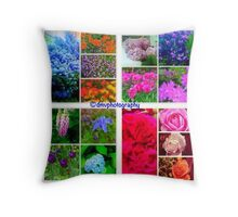 Different Hues Throw Pillow