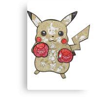 Pikachu Doodle  Canvas Print