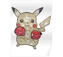 Pikachu Doodle  Poster