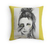 Clip My Wings (cushion) Throw Pillow