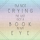 Book in Eye by emziiz