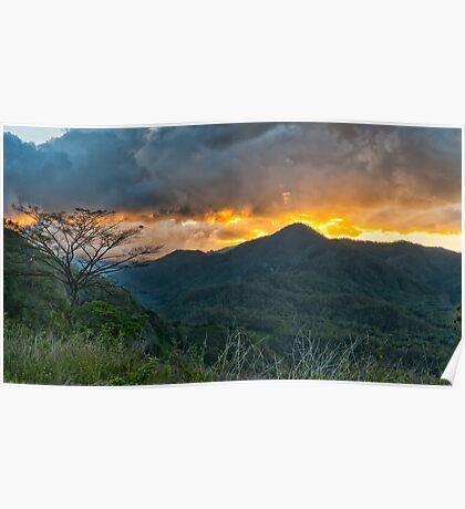 Sunset Timor Leste Poster
