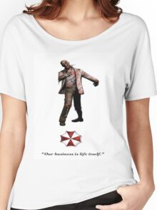 Resident Evil zombie Women's Relaxed Fit T-Shirt