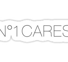 No 1 Cares Sticker