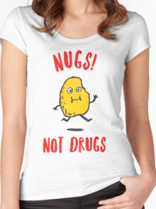 Nugs Not Drugs T-Shirt Women's Fitted Scoop T-Shirt