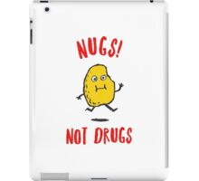 Nugs Not Drugs T-Shirt iPad Case/Skin