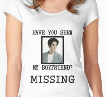 EXO Sehun - Have You Seen My Boyfriend Women's Fitted Scoop T-Shirt