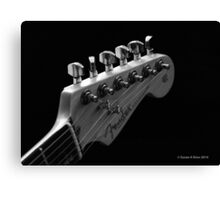 Fender Strat Guitar Canvas Print