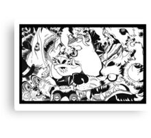 Monster Mash! Canvas Print