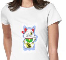 maneki neko Womens Fitted T-Shirt