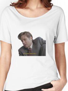 Fox Mulder [paranoia intensifies] Women's Relaxed Fit T-Shirt