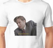 Fox Mulder [paranoia intensifies] Unisex T-Shirt