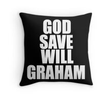 GOD SAVE WILL GRAHAM - Hannibal Throw Pillow