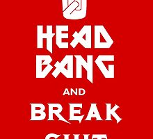 Head Bang (Metal Fonts) by cdpayne
