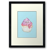 Candy Land Project - #4 Cupcake Framed Print