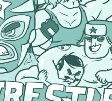 Wrestle Guys Sticker