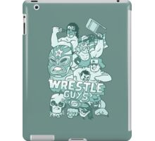 Wrestle Guys iPad Case/Skin