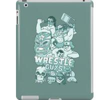 Wrestle Guys iPad Case/Skin