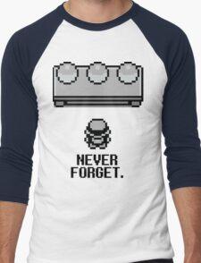 Never Forget Men's Baseball ¾ T-Shirt