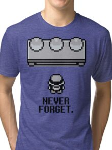 Never Forget Tri-blend T-Shirt