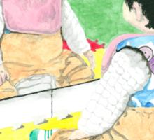 Daily Doodle 32 - Children - Hannah Sticker