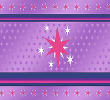 My little Pony - Twilight Sparkle Cutie Mark V4 by ariados4711