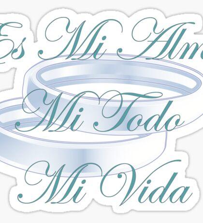 Es Mi Alma Sticker