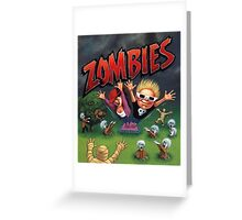 Zombies Ate My Neighbors Greeting Card