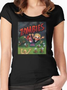 Zombies Ate My Neighbors Women's Fitted Scoop T-Shirt