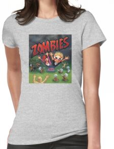 Zombies Ate My Neighbors Womens Fitted T-Shirt