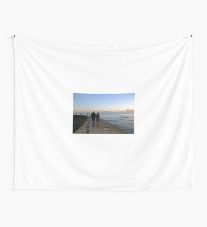 Romance at Sunset.......... Wall Tapestry
