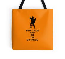 Keep Calm And Go The Distance Tote Bag