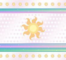 My little Pony - Princess Celestia Cutie Mark V4 by ariados4711