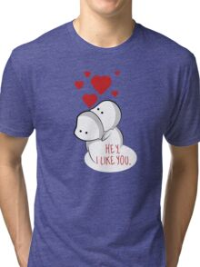 Valentine's Day is everyday. Tri-blend T-Shirt