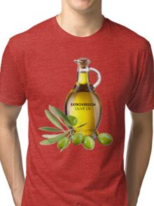 Extroversion Olive Oil Tri-blend T-Shirt