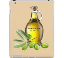 Extroversion Olive Oil iPad Case/Skin