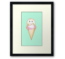 Candy Land Project - #3 IceCream Framed Print